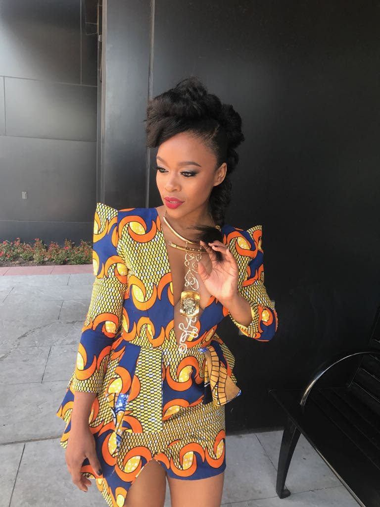 15 Gorgeous pictures of Nomzamo Mbatha rocking African ...