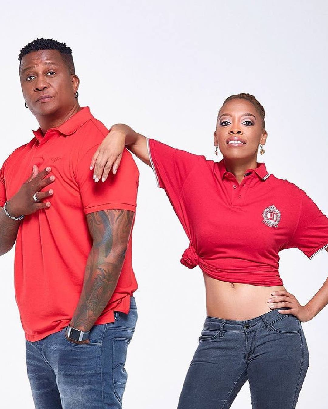 DJ Fresh and Angie Khumalo