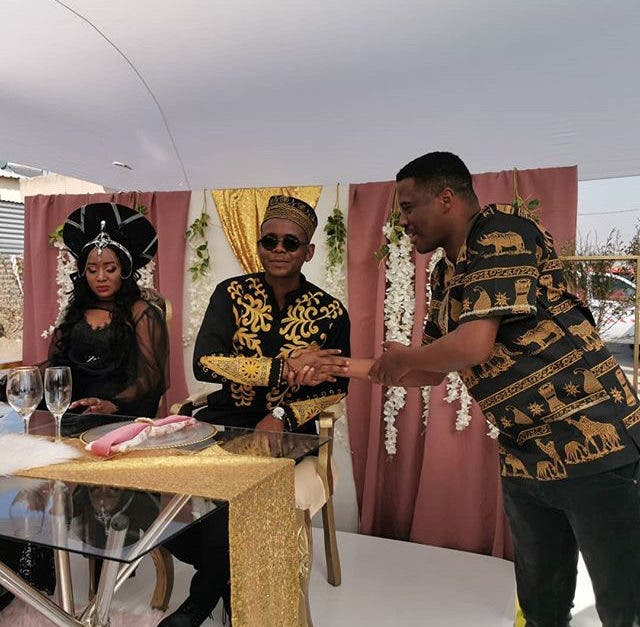 Skeem Saam Actor Cornet Mamabolo is now Married – Pictures ...