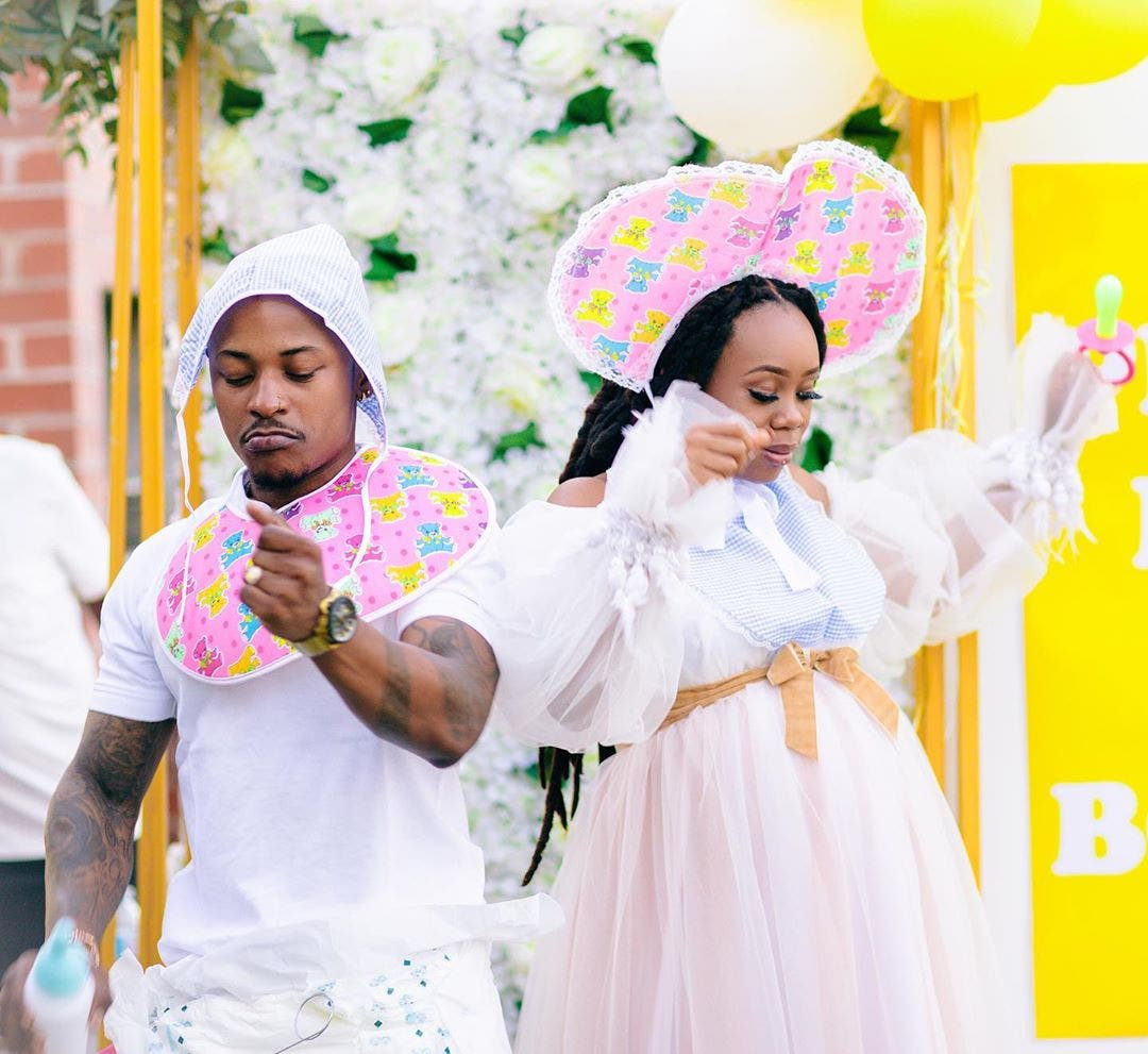 Bontle and Priddy Ugly baby shower