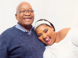 Nonkanyiso Conco and Jacob Zuma