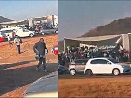Thirsty residents loot Alcohol on highway