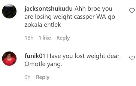 fans react to Carpo weight loss