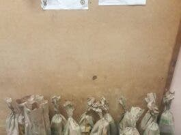 Milk store owner arrested for selling liquor hidden in bags of potatoes
