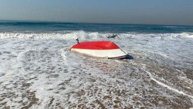 Minor injuries reported at overturned boat