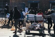 Protea Glen Mall looters